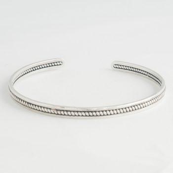Dames Armband Chain Cuff Small Zilver
