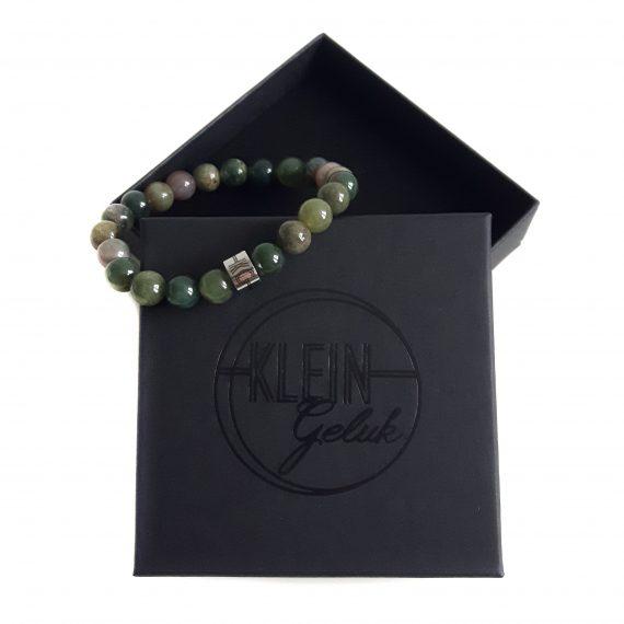 Dames Armband Groen Agaat Cadeau