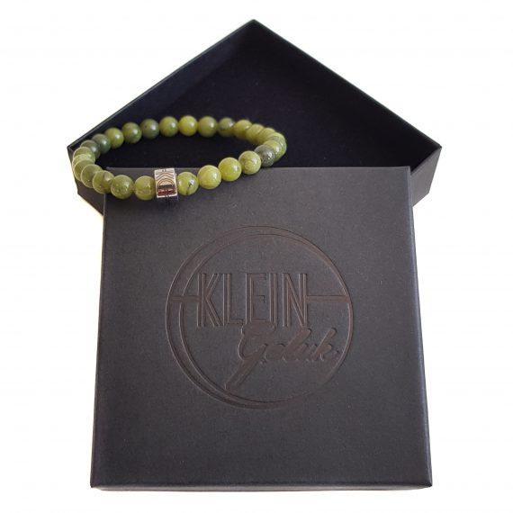 Dames Armband Groen Jade 6mm Cadeau