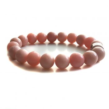Dames Armband Roze Opaal