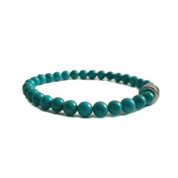 Dames Armband Turquoise Howliet 6mm