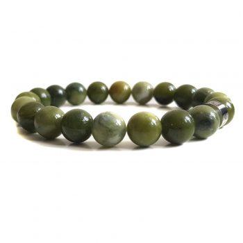 Heren Armband Groen Jade