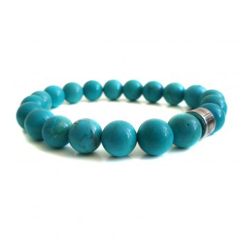 Heren Armband Turquoise Howliet